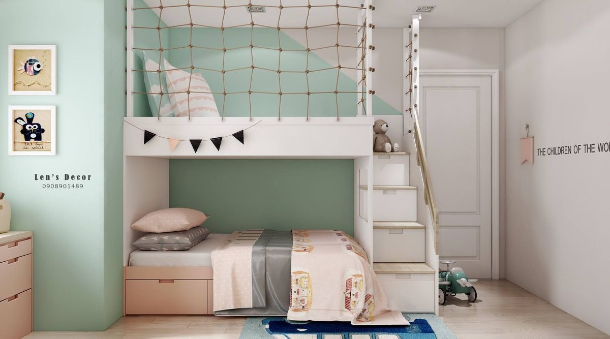 40 Awesome Kids Rooms That Use The Pastel Color Palette Kids