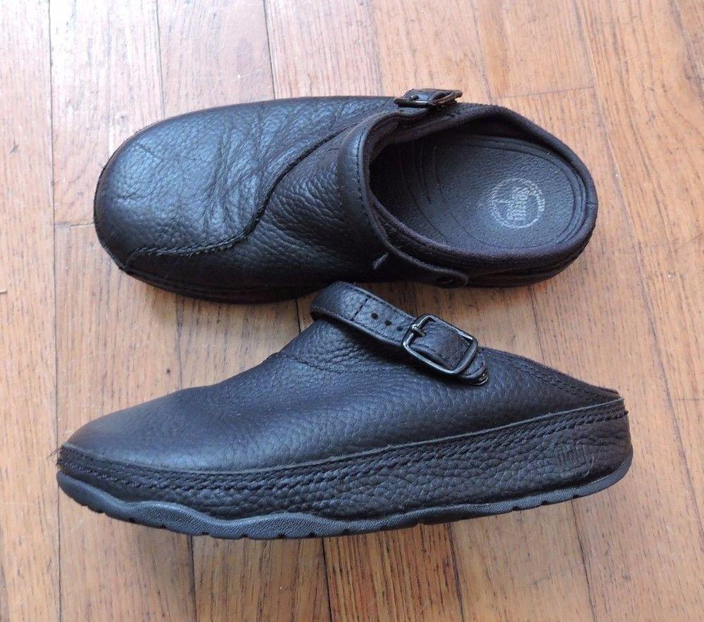 2d4525a629439b Fitflop Black Clogs Size 2 UK