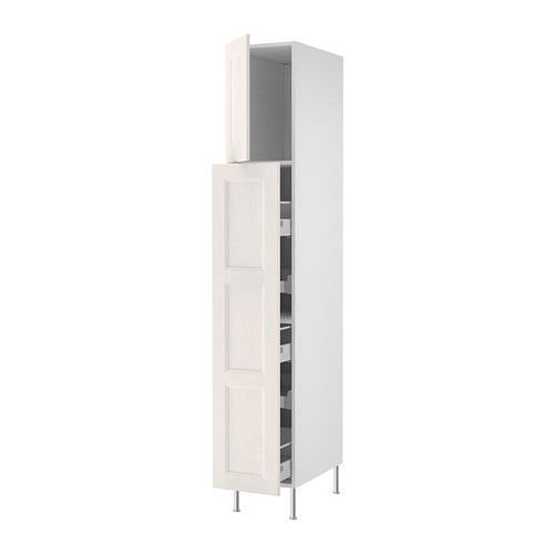 Pull Out Pantry Cabinet Ikea: Pantry Cabinet $554.95 AKURUM High Cab W Pull-out Storage