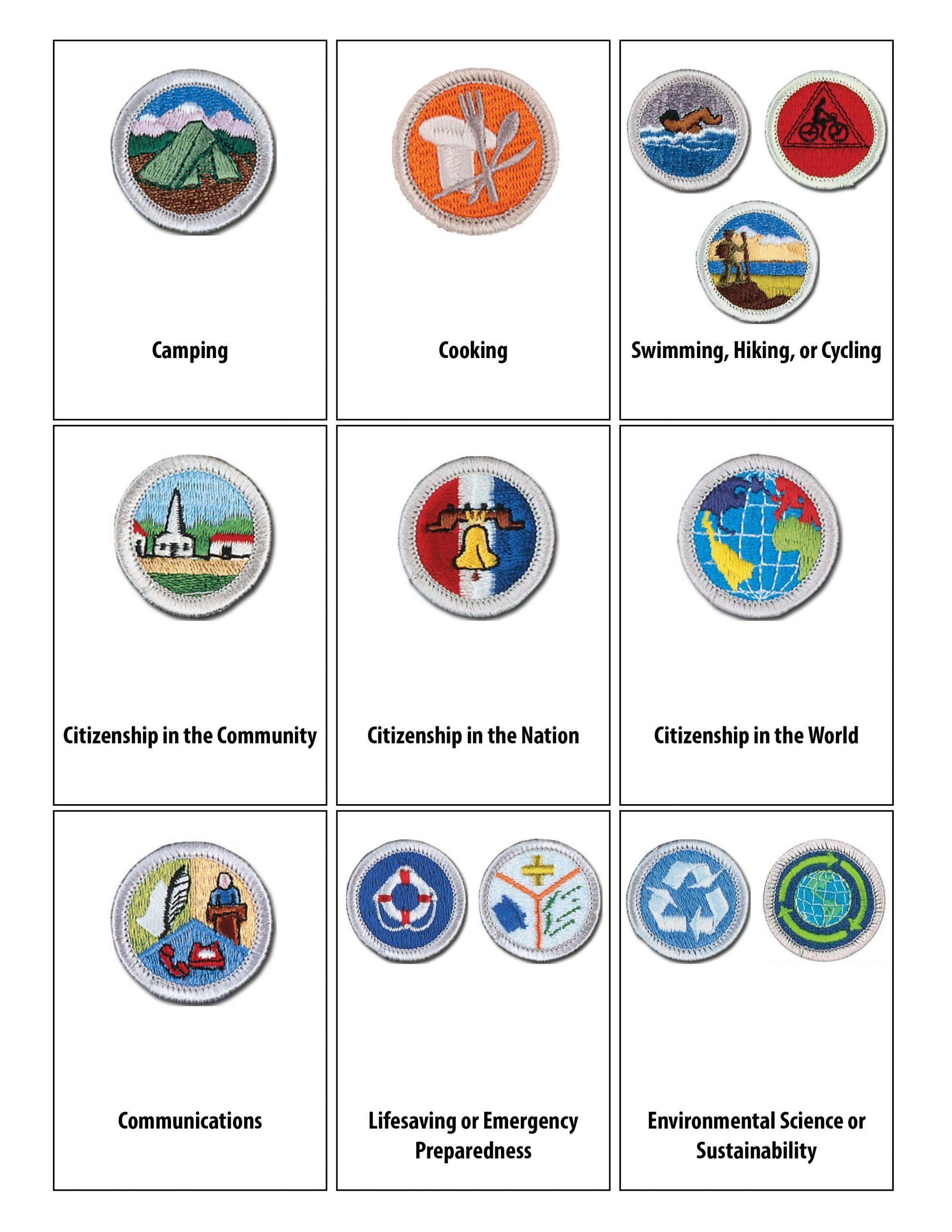 Communication Merit Badge Worksheet