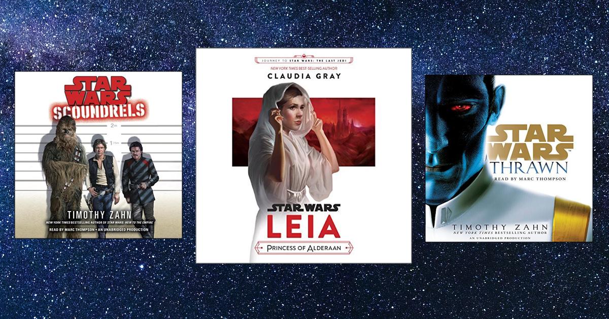 12 Audiobooks for Star Wars Fans Star wars fans, Star