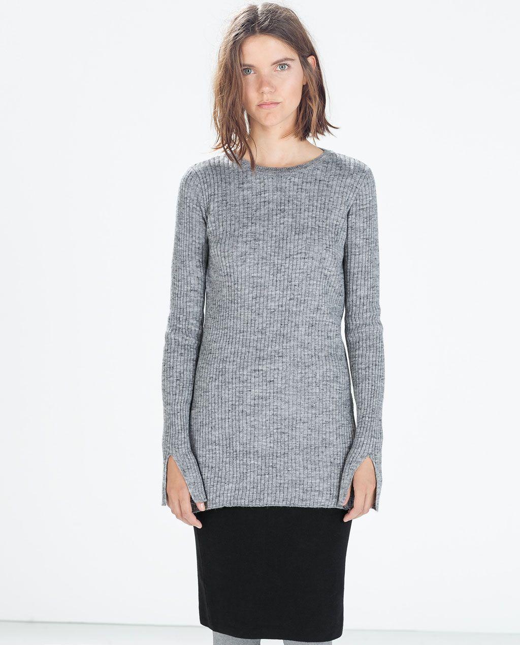 sweater met col dames