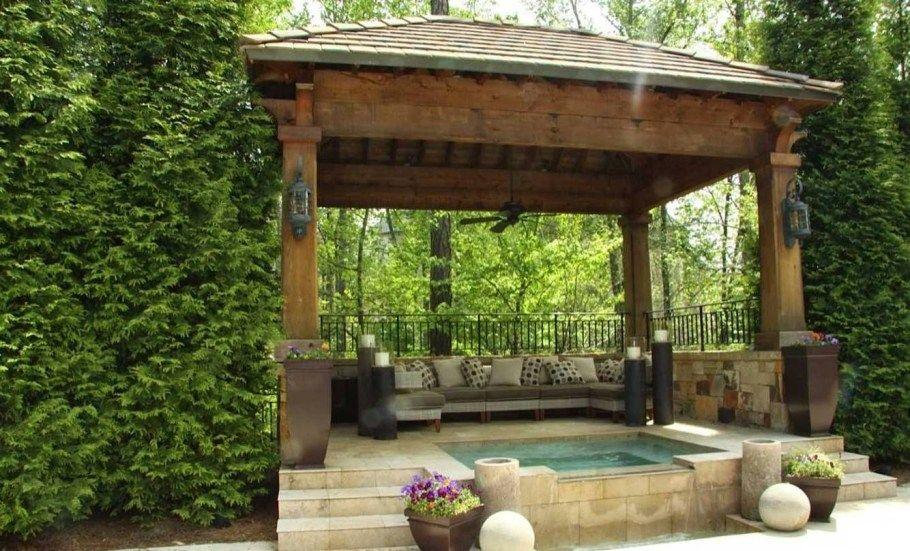 10 Garden Gazebo Ideas Amazing And Attractive Backyard Gazebo Backyard Garden Gazebo