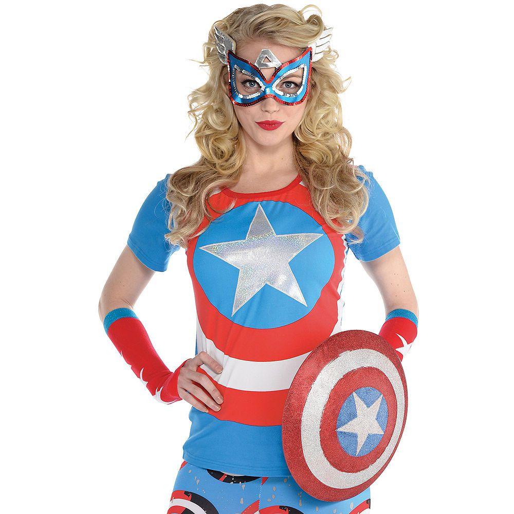 Marvel American Dream Women/'s Arm Warmers NEW!!