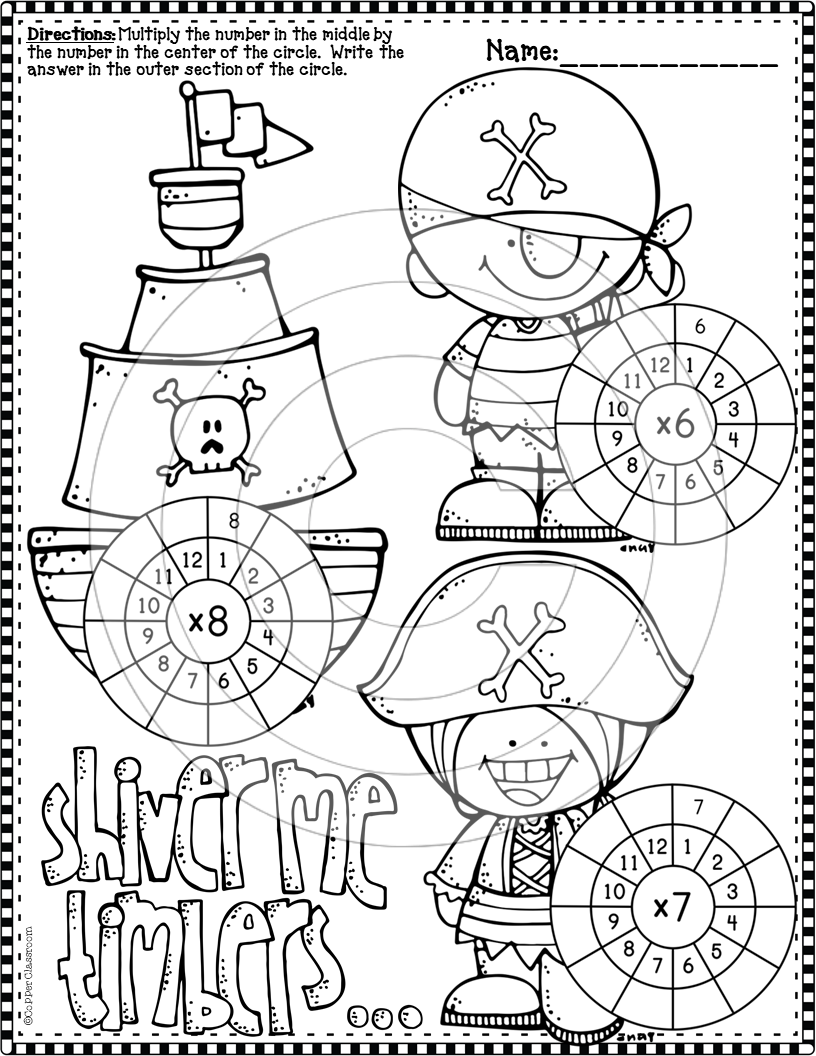3 Oa 7 Halloween Multiplication Wheels Multiplication Halloween Multiplication Multiplication Wheel [ 1056 x 816 Pixel ]