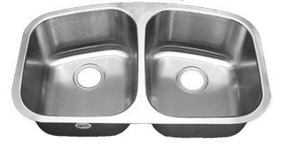 50 50 Double Bowl 16 Gauge Stainless Steel Undermount Sink