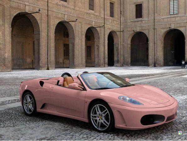 #pinkferrari