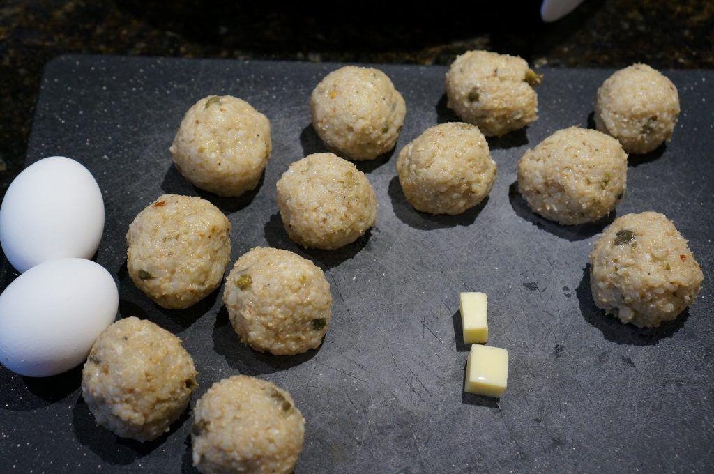 Air fryer arancini Recipe Arancini, Food, Street food