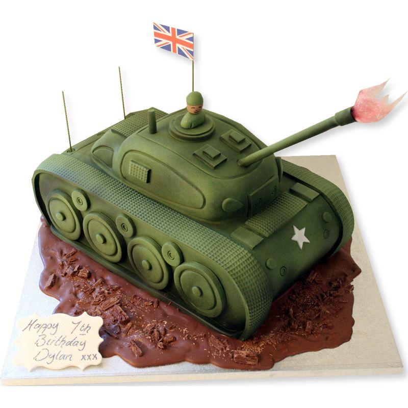 Peachy Tank Cake Birthday Cakes The Cake Store Tank Cake Army Funny Birthday Cards Online Elaedamsfinfo