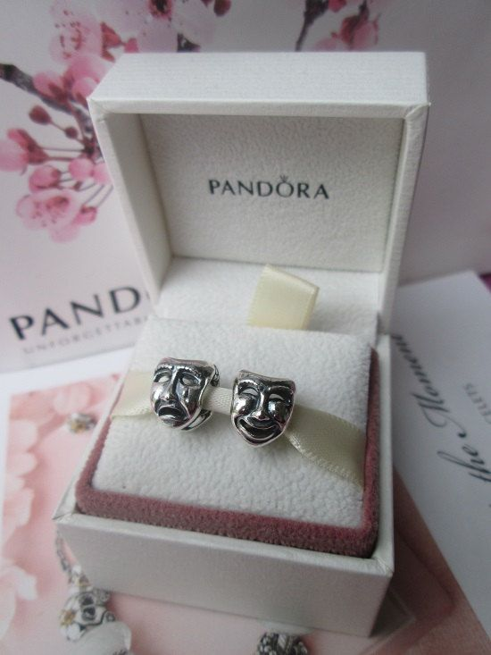 10914c747 Authentic Pandora Charm The World's A Stage Theatre Mask For Bracelet with  ORIGINAL BOX on Etsy, $24.99