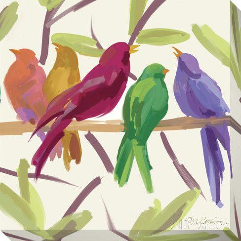 Flock Together Stampa su tela