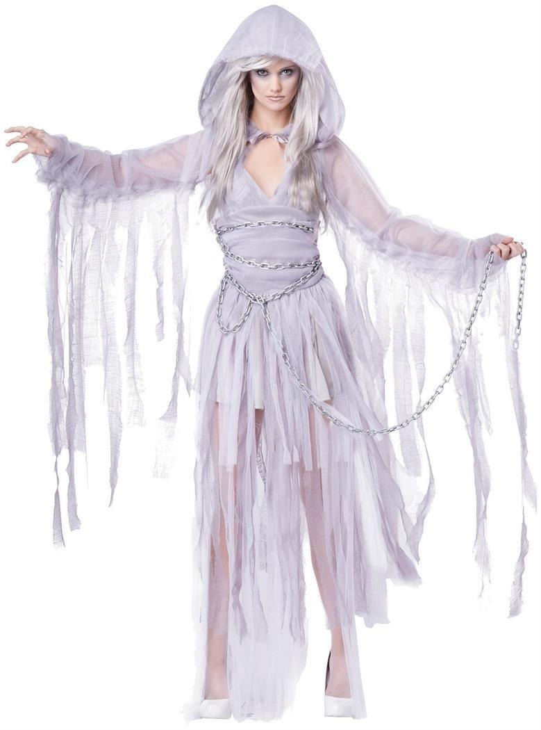 Women's Haunting Ghost Costume #deguisementfantomeenfant