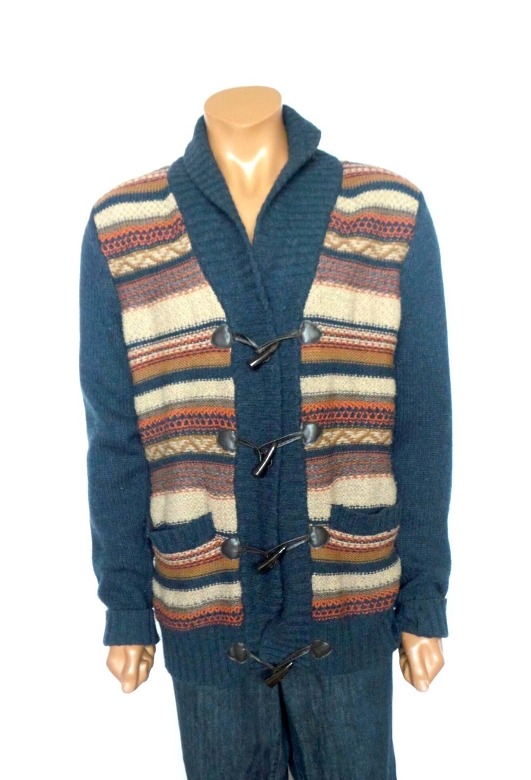 H&M Men's Cardigan Sweater Size Large | eBay | Men's Sweaters and ...
