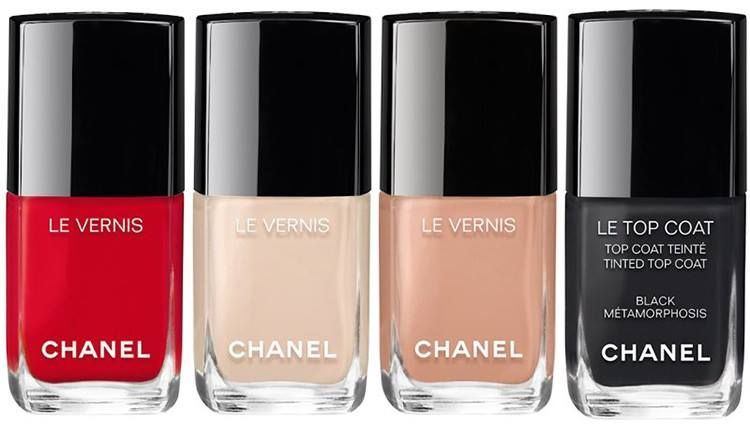 Chanel Spring 2017 Coco Codes Collection Nail Lacquers Polish Nails