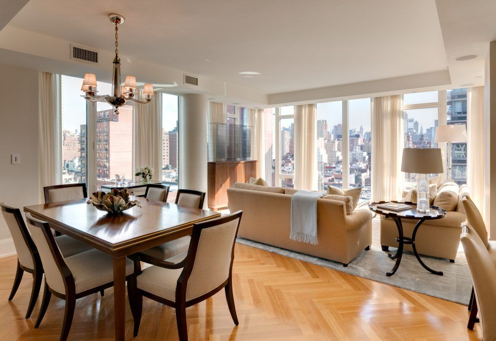 Living Room Dining Room Combo Design Ideas Of An Architect