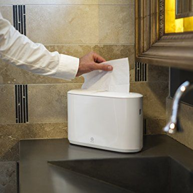 Amazon Com Tork Xpress Countertop Multifold Hand Towel Dispenser Love This Instead Of A Rol Small Bathroom