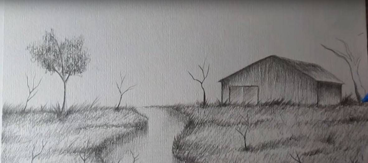 Cómo Dibujar A Lápiz Guía Máxima: Paso 7 Para Aprender A Dibujar Paisajes A Lapiz