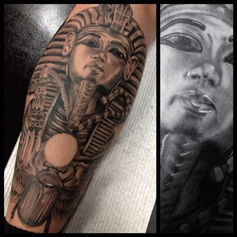 Image result for king tut egyptian tattoo | Tattoo Ideas ...