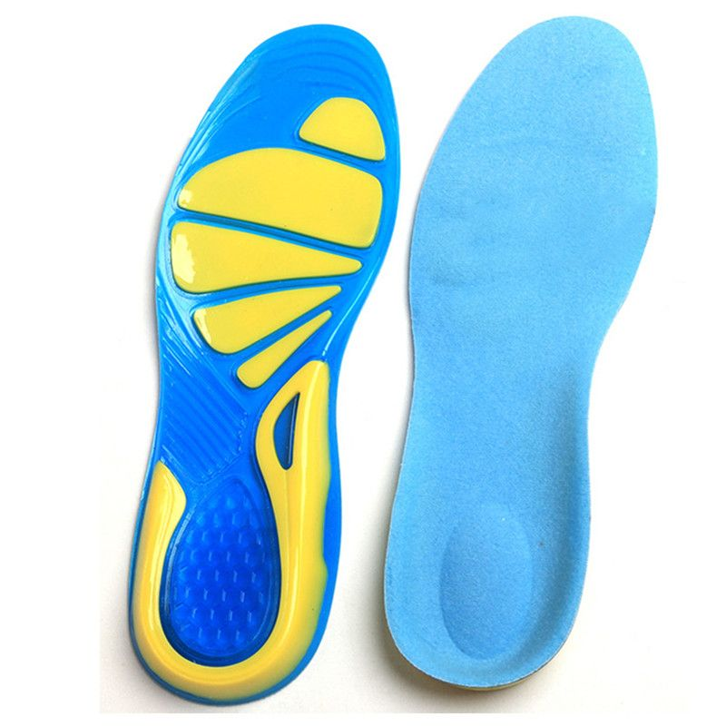 05db42204b Silicone Insole Basketball Running Mountaineering Shock Absorption Men And  Women Shoes Insert Cushion Sports Shoes Pad