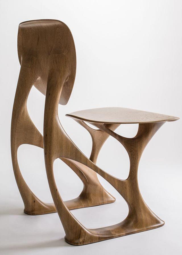Groove Original Design Chair By Enne In 2020 Moderne Holzmobel