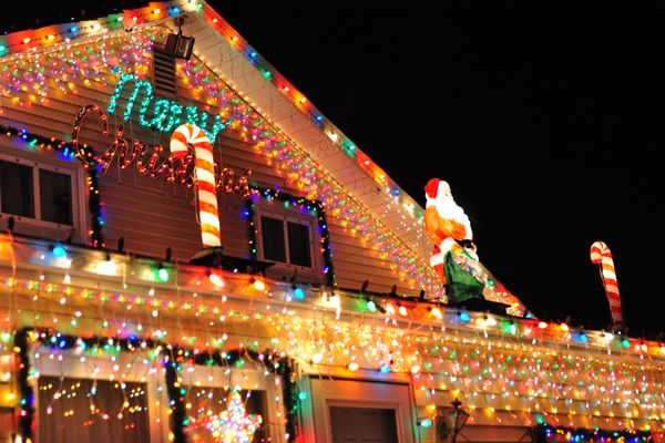 Big Christmas Light Displays