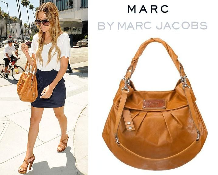 Lauren Conrad Smartens With Marc By Jacobs Handbag