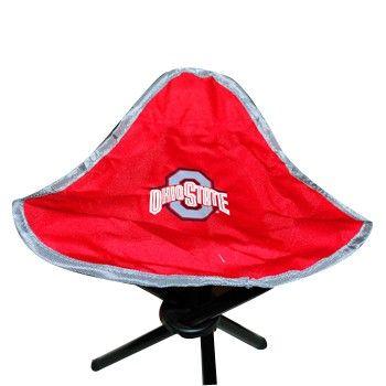 Ohio State University 3 Leg Stool - Everything Buckeyes - OSU Fan Shop
