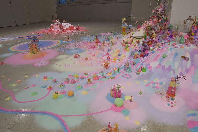 Pip & Pop art installation