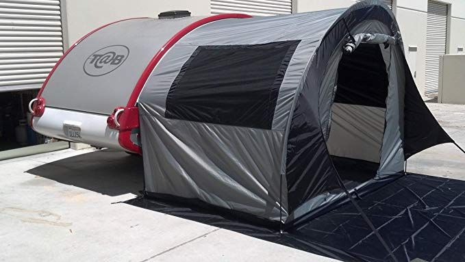 PahaQue Tab Trailer Side Tent for Nucamp - Little Guy - Dutchman