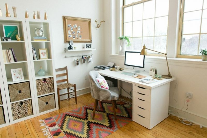 Ruth Allen's New England Home Tour #theeverygirl #office