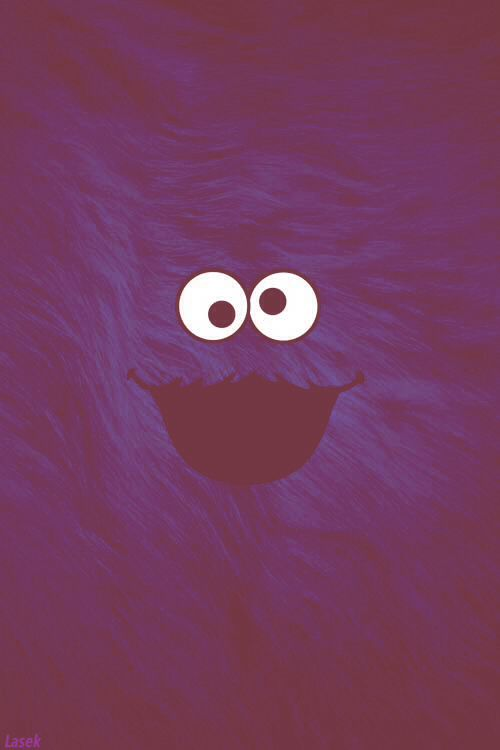 Cookie monster iphone wallpaper disney pinterest - Cookie monster wallpaper ...