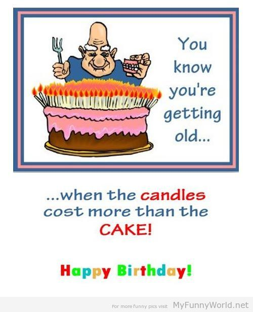 Funny Birthday Cards You Know Youre Getting Old When 59 And