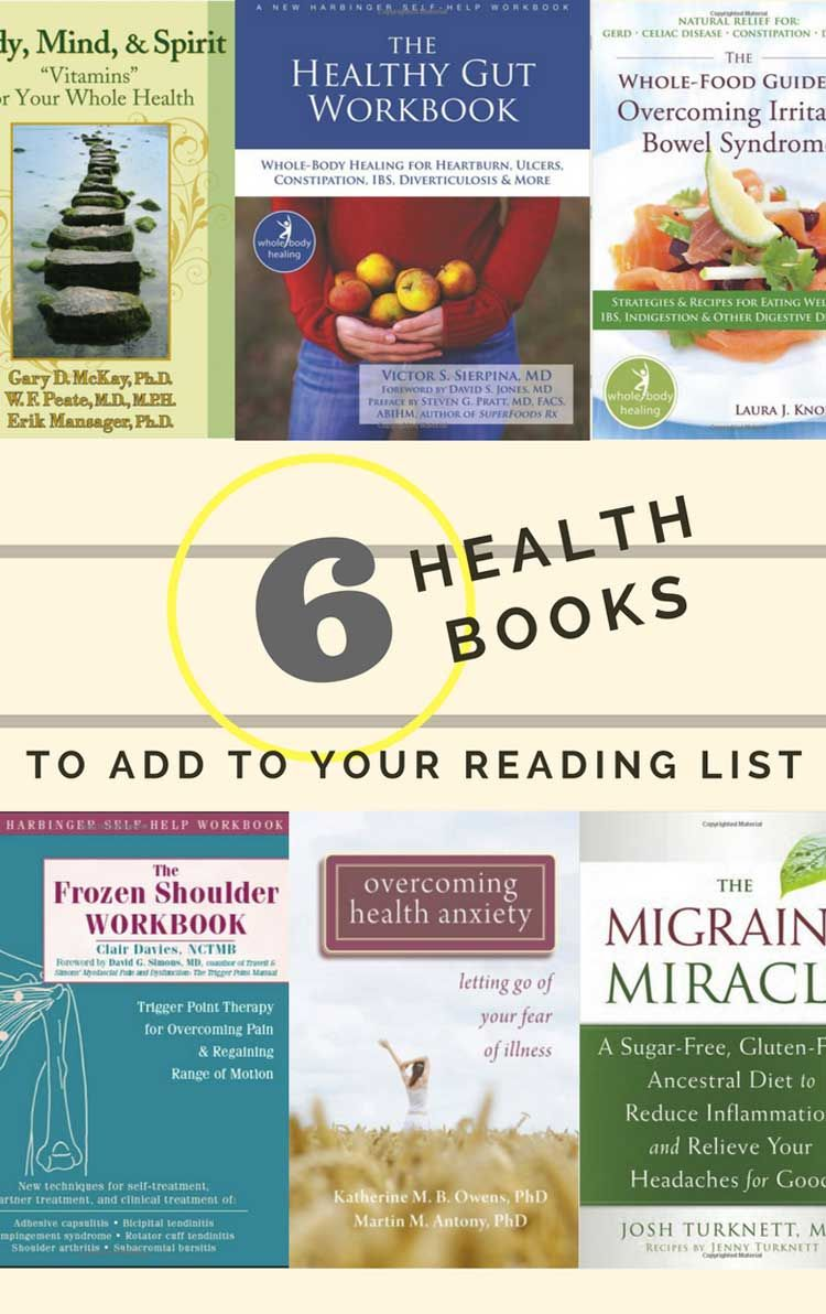 Medical Health Issues - Books to Add to Your Reading List