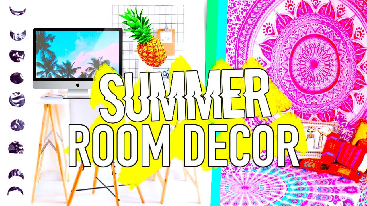 DIY Summer Room Decor Tumblr Inspired! Easy & Affordable! - Phases ...
