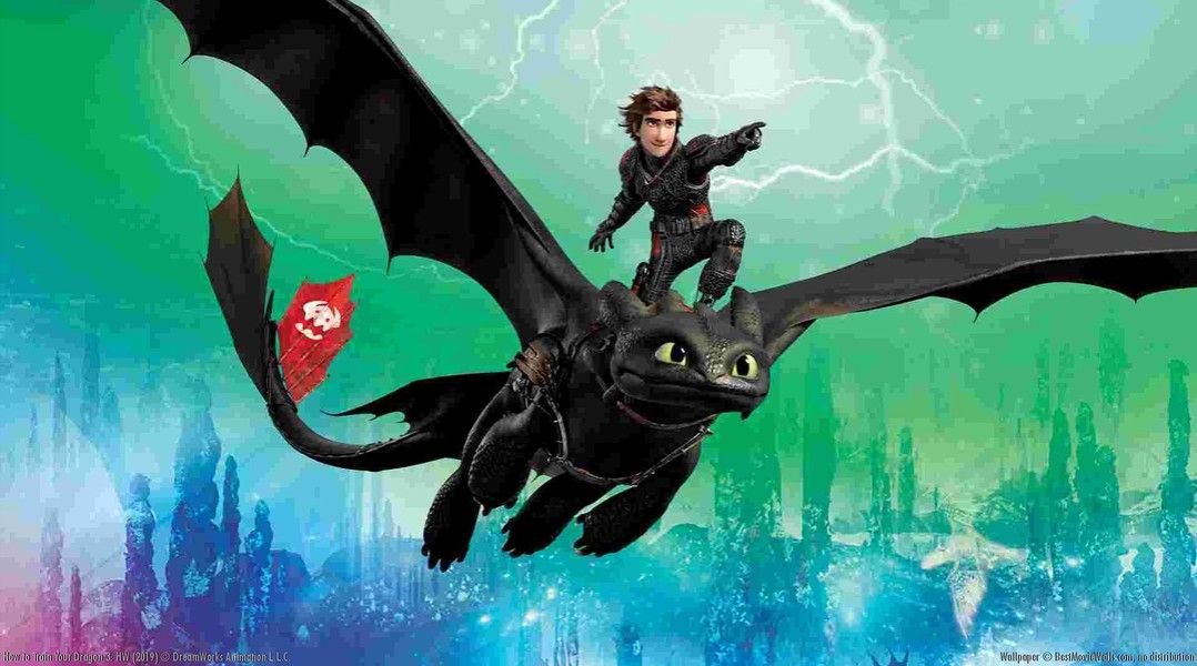 NEW Poster of HTTYD 3!! | animated pics | How to train your
