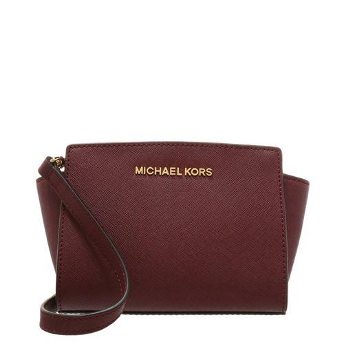 MICHAEL Michael Kors SELMA - Umhängetasche - merlot
