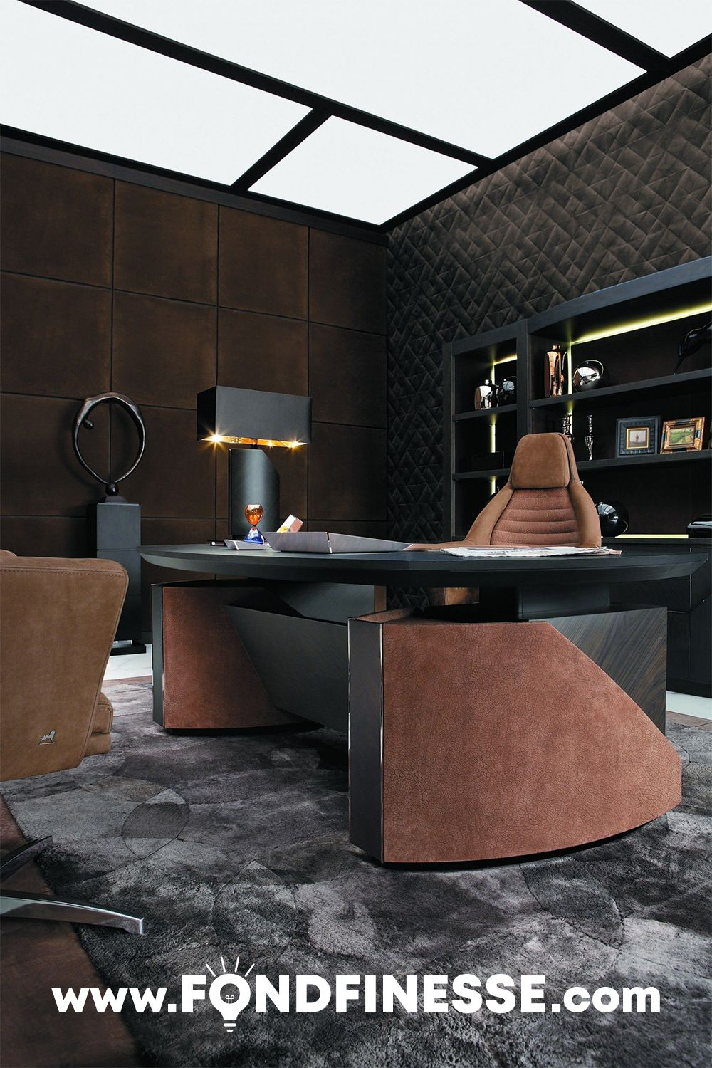 Luxurious Office Modern Office Interiors Office Table Design