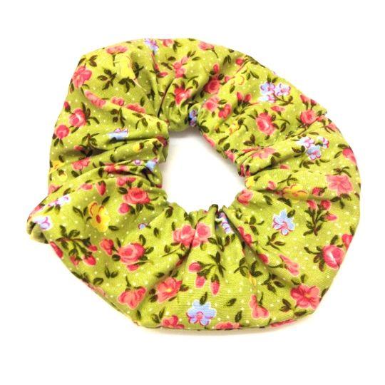 Floral Scrunchie-£3 #prettytwisted #accessories #scrunchie http://prettytwistedonline.co.uk/product/floral-scrunchie-7/