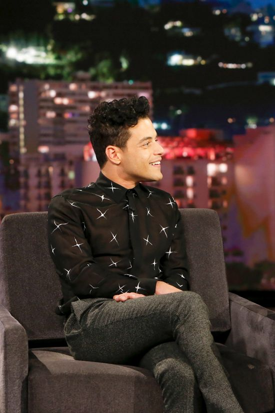 "Rami Malek on ""Jimmy Kimmel Live!"" 