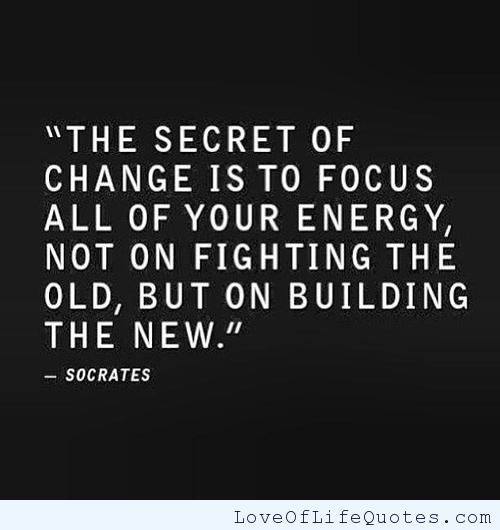 Quote About Change Awesome Quotes About Change With Pictures  Socrates Quote On Change  Love