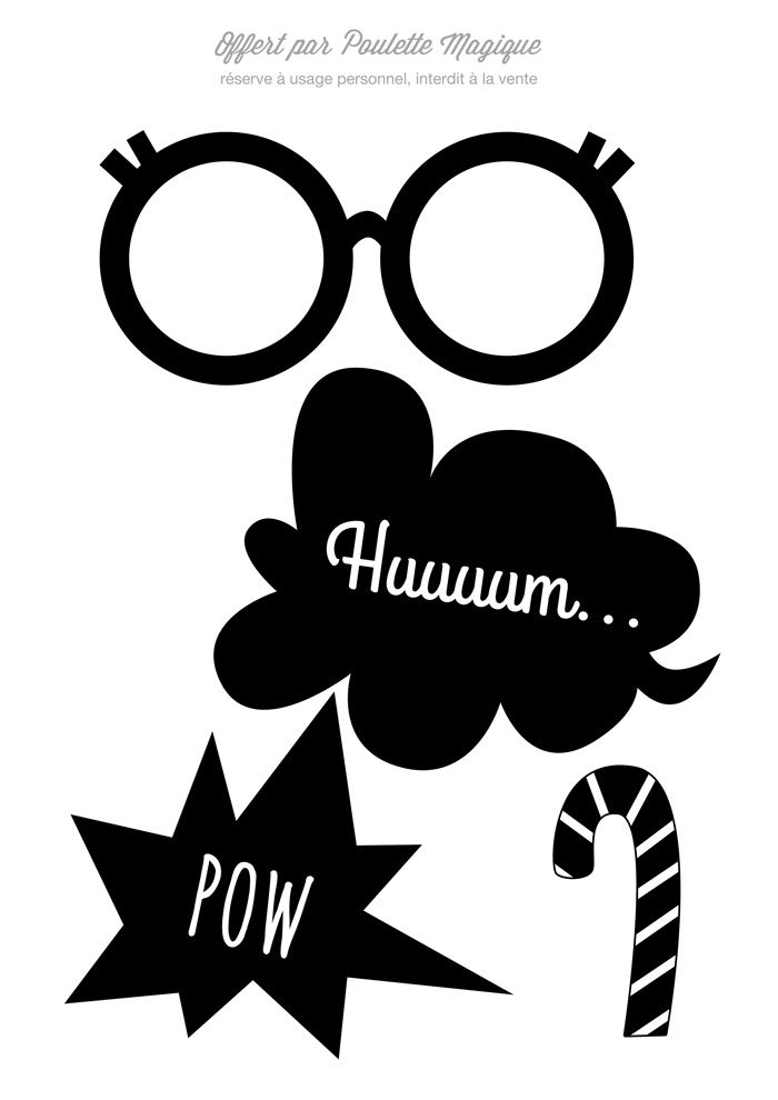 photobooth t l charger 2 poulette magique photobooth magique pinterest magique. Black Bedroom Furniture Sets. Home Design Ideas