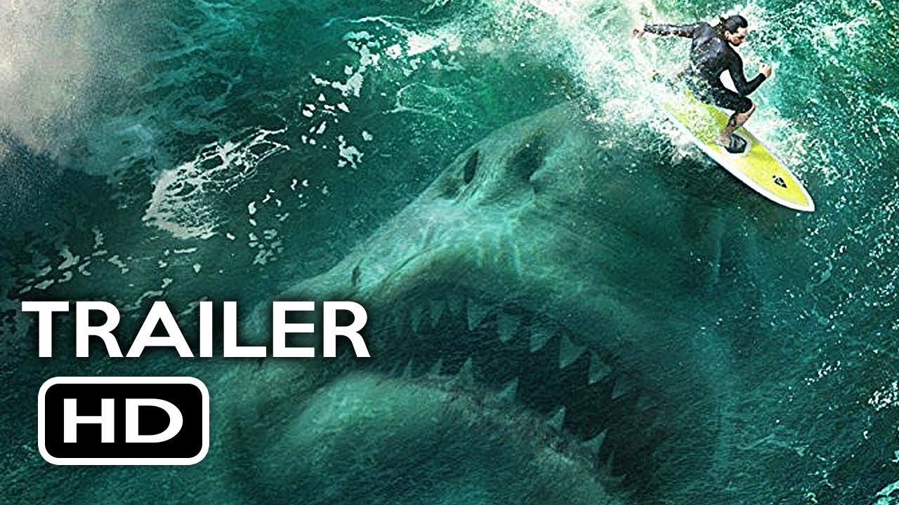 The Meg Official Trailer 1 2018 Jason Statham Ruby Rose Megalodon Sh Shark Film Meg Movie Jason Statham