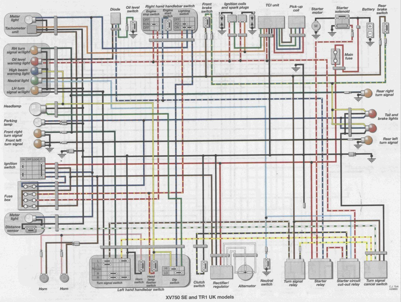 Fabulous Virago Wiring Diagram Wiring Diagram Official Wiring Cloud Oideiuggs Outletorg