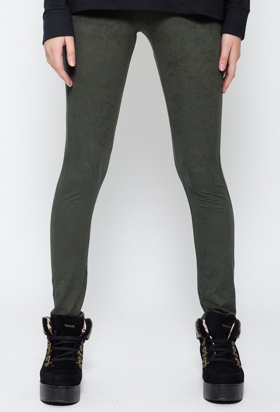 Calza Jean verde
