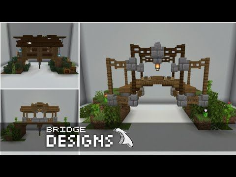 Minecraft: 5 Ideas of Bridge Designs