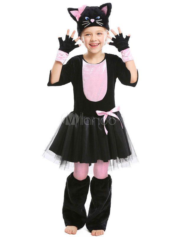Halloween Costumes Cats Cosplay Black Knee-high Socks ...