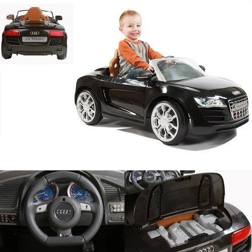 Toddler Electric Car Audi R V Ride On Battery Powered Realistic - Audi 6v ride toy cars