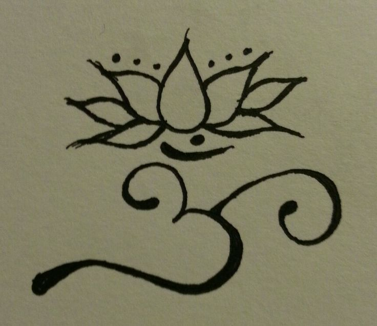 Om Lotus Tattoo Design Rp88 Tattoo Pinterest Tattoos
