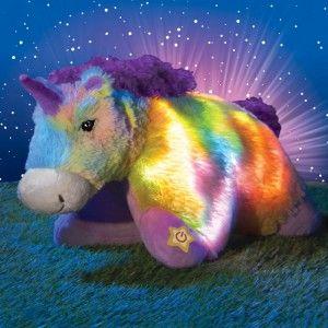 Pillow Pets Glow Pets Sparkling Unicorn Animal Pillows Unicorn
