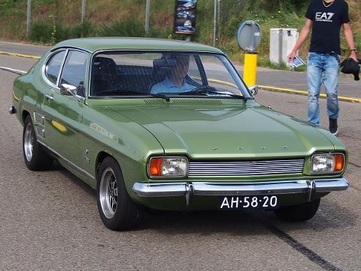 Ford Capri mk1 1500 green